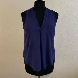 Lush sleeveless blouse